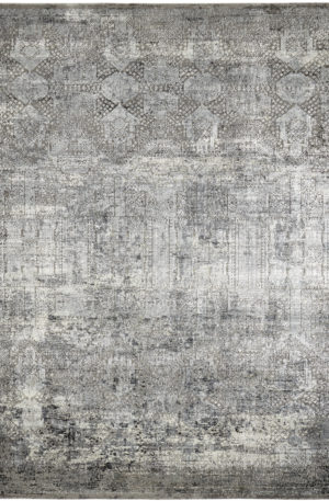 King's Meadow Collection 5X8 Grey Area Rug