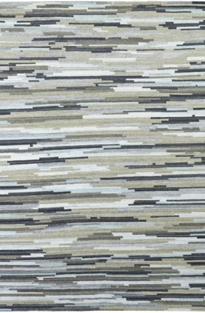 Essential Collection 3X5 Multi Wool Area Rug