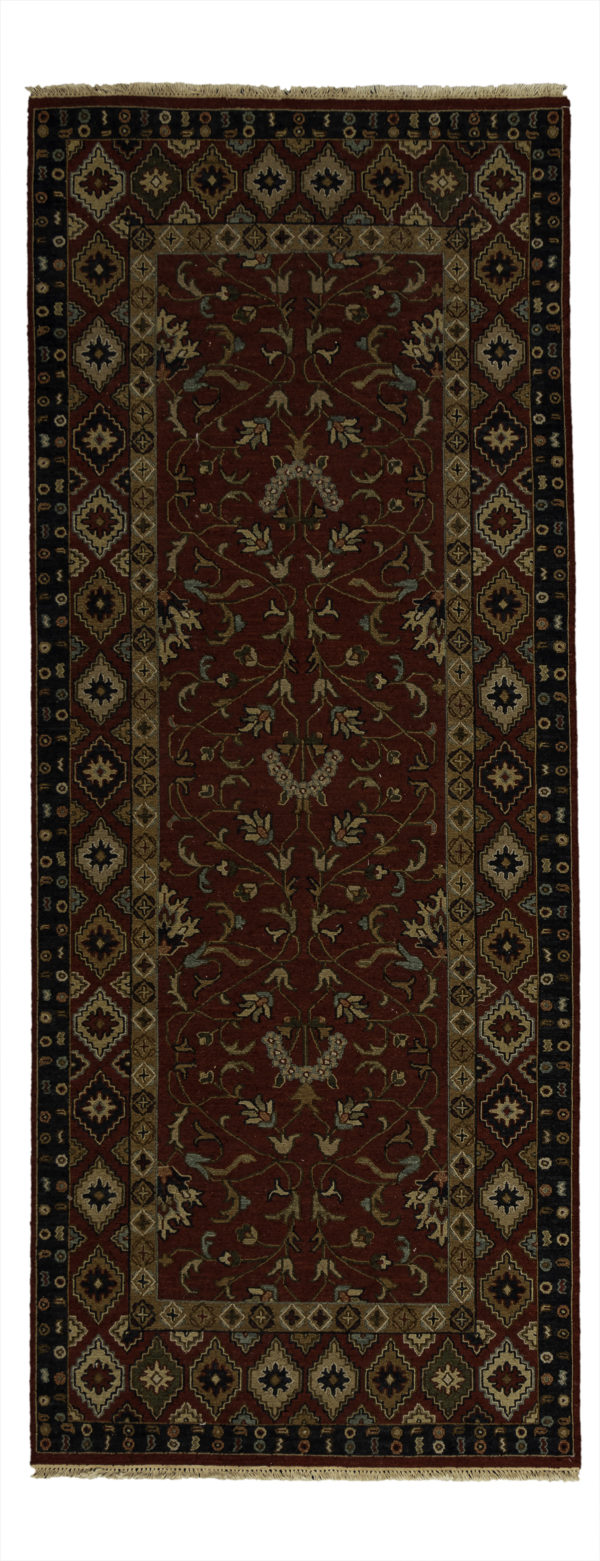 Adirondack Collection 4X10 Red Runner Area Rug
