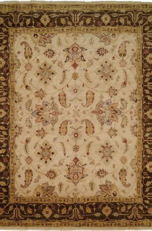 Anatolia Collection 8X8 Beige Brown Area Rug