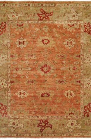Anatolia Collection 3X5 Gray Wool Area Rug