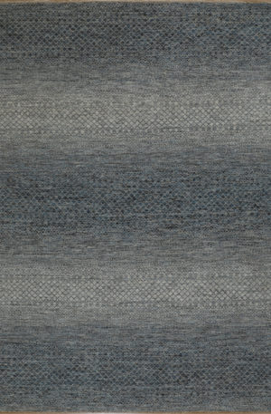 Amazon Collection 9x12 Blue Wool Area Rug