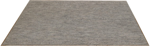 Amazon Collection 6' Square Ivory Wool Area Rug
