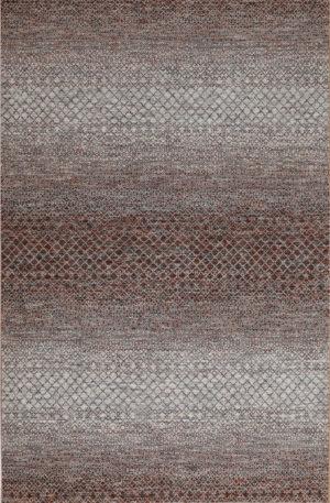 Amazon Collection 6x9 Rust Wool Area Rug