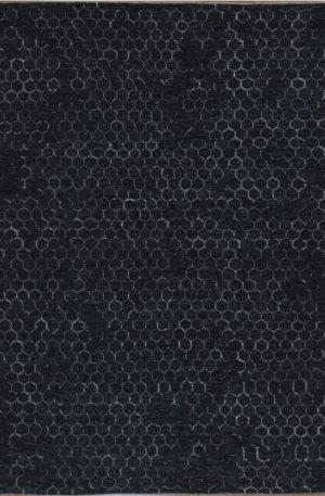 Amazon 8x10 Charcoal Wool Area Rug
