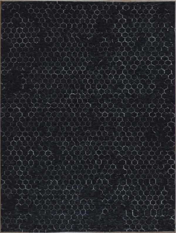 Amazon 9x12 Charcoal Wool Area Rug