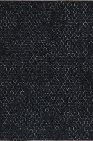 Amazon 4x6 Charcoal Wool Area Rug