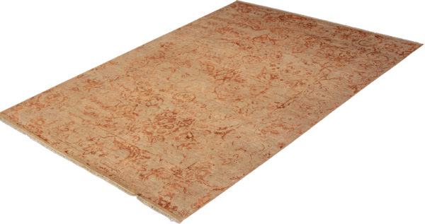 Damas Collection 9X12 Beige Wool Area Rug