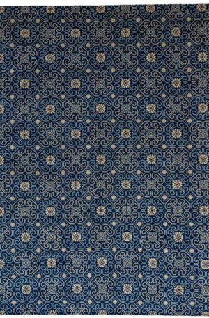 Soft Harmony 10X14 Blue Wool Area Rug
