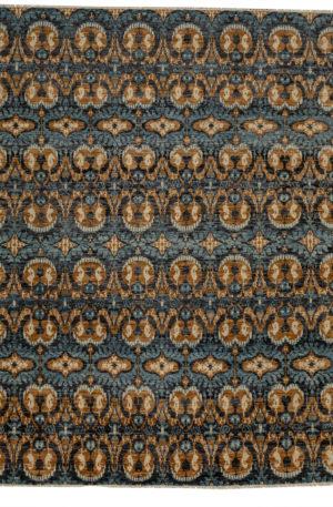 Soft Harmony 8X10 Black Wool Area Rug