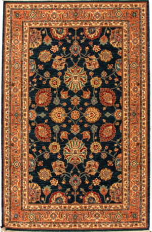 Sovereign 6X9 Blue Wool Area Rug