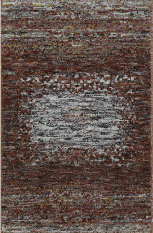 Amazon 2x3 Rust Wool Area Rug