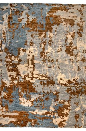 Contemporary 9X12 Grey Wool Area Rug