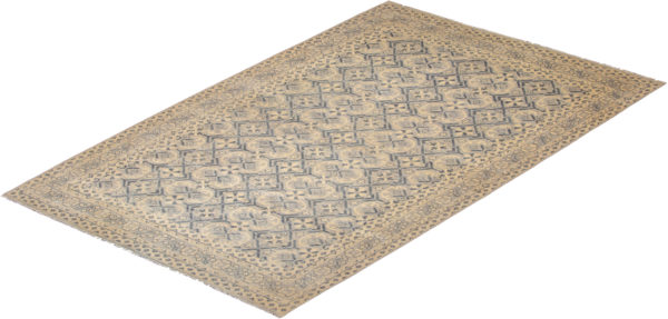 India Aryana 10X14 Gray Wool Area Rug