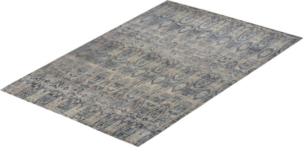Soft Harmony 9X12 Grey Wool Area Rug