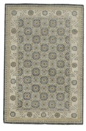 Soft Harmony 5X8 Ivory Wool Area Rug