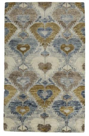 Soft Harmony 5X8 Silver Wool Area Rug