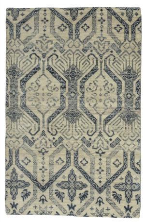 Soft Harmony 4X6 Ivory Wool Area Rug