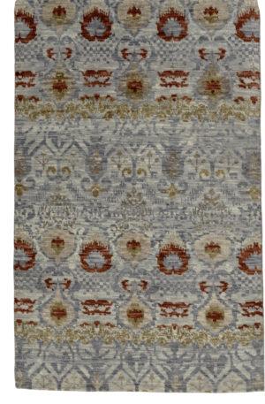 Soft Harmony 4X6 Grey Wool Area Rug