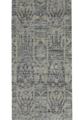 Soft Harmony Runner Grey Wool Area Rug