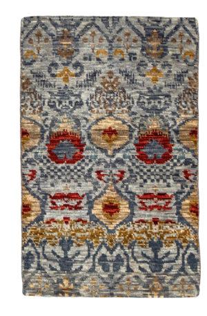 Transitional 3X5 Grey Wool Area Rug