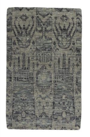 Soft Harmony 3X5 Grey Wool Area Rug