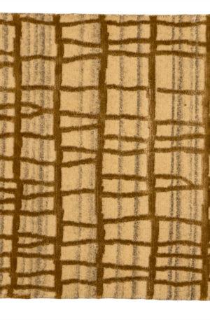 Contemporary 2X3 Ivory Area Rug