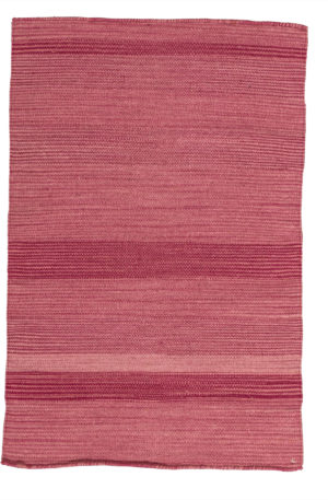 Flatweave 2X3 Purple Wool Area Rug
