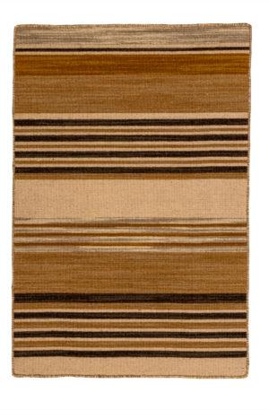 Flatweave 2x3 Pink Wool Area Rug