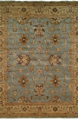Anatolia Collection 8X10 Blue Wool Area Rug