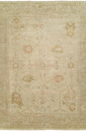 Anatolia Collection 3X5 Ivory Wool Area Rug