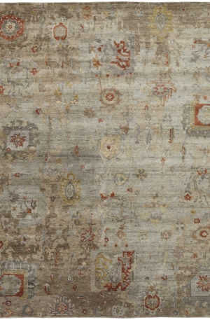 Trident Collection 3X5 Wool Area Rug