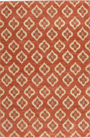 Transitional 5X8 Pink Area Rug