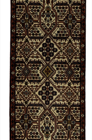 Persian Meymeh 3X5 Red Wool Area Rug