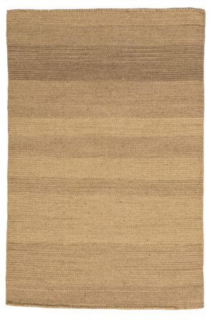 Flatweave Contemporary 2X3 Beige Wool Area Rug
