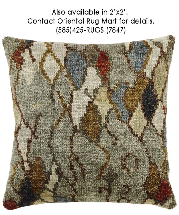 Tribal 1x2 Multi Color Pillow