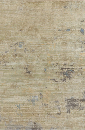 Husk Collection Gold Wool & Silk Area Rug