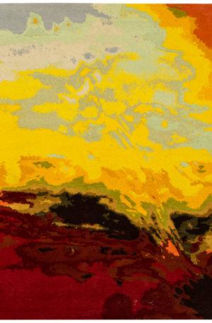 Art Rug Nepal 9X12 Multi Color Wool Area Rug