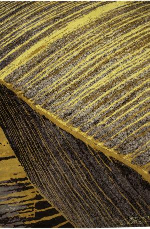 Art Rug Nepal 9X12 Gold Wool Area Rug