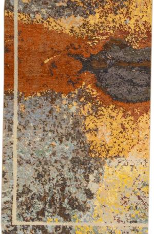 Art Rug Nepal 3X5 Multi Color Wool Area Rug