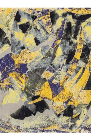 Art Rug Nepal 8X10 Yellow Wool Area Rug