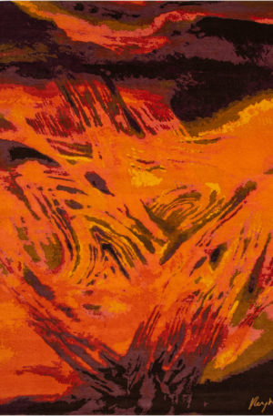Art Rug Nepal 9X12 Multi Wool Area Rug