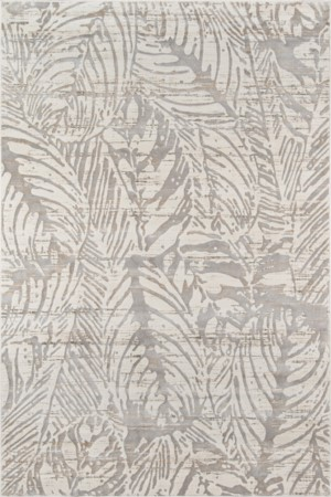 Julia Collection 5x8 Beige Transitional Area Rug