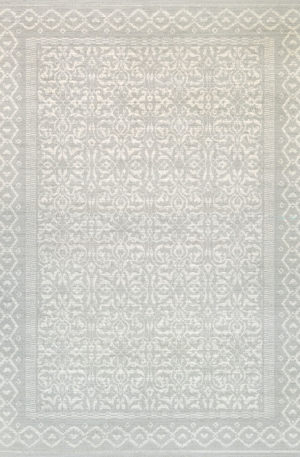 Harbor Collection 5X8 Ivory Transitional Area Rug