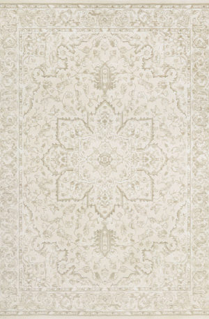 Transitional 5X8 Beige Beige Synthetic Area Rug