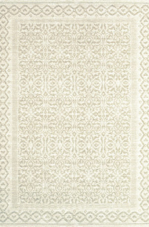 Harbor Collection 2X3 Ivory Transitional Area Rug