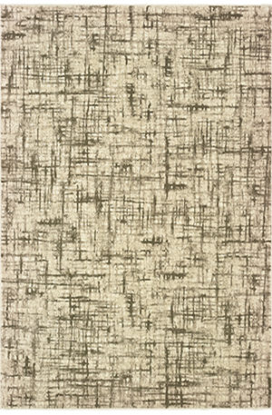 London Collection 5X8 Multi Synthetic Area Rug