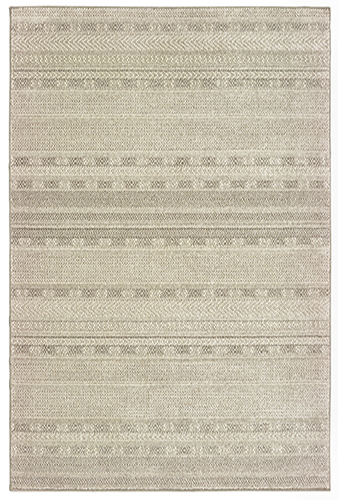 London Collection 5X8 Ivory Area Rug