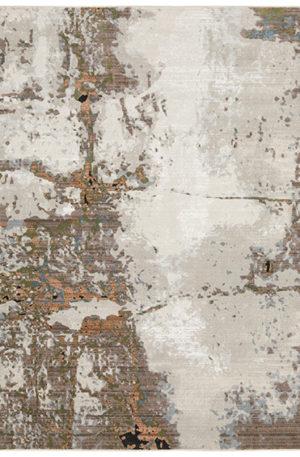 Cavalcade 5x8 Ivory Contemporary Area Rug