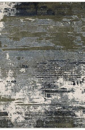 Cavalcade 5x8 Grey Contemporary Area Rug